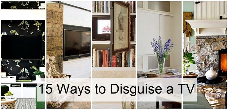 15 ways to disguise a tv..........or white board.