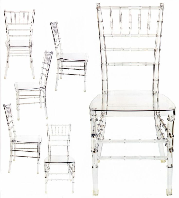 acrylic lucite furniture produced by dupont these would be amazing as seating for a wedding