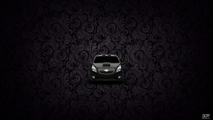 Как вам мой тюнинг #Chevrolet #Spark 2011 на 3DTuning #3dtuning #tuning