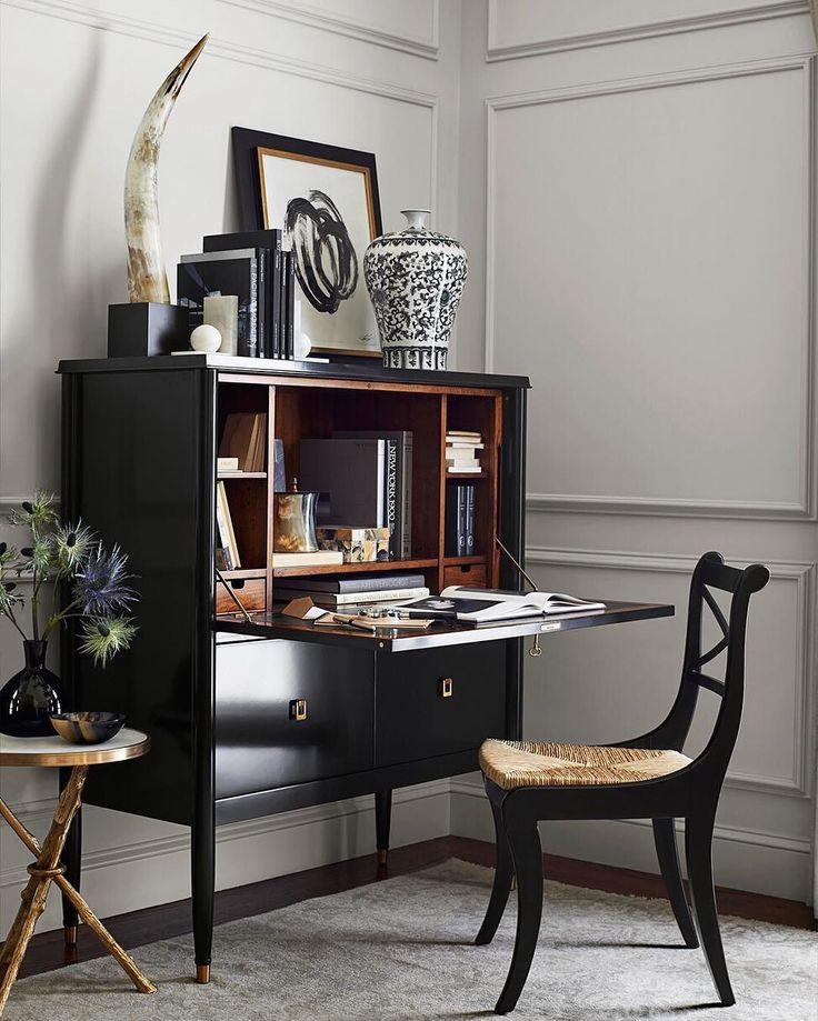 traditional style secretary desk - 710×710