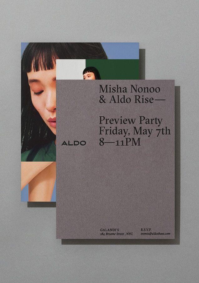 Aldo by Collins. #branding #design #print
