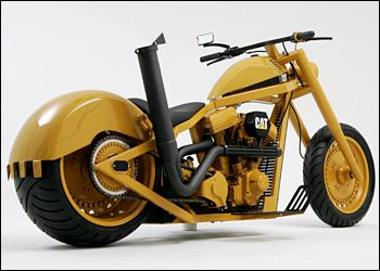 Bernie S American Chopper Fan Site Caterpillar Bike