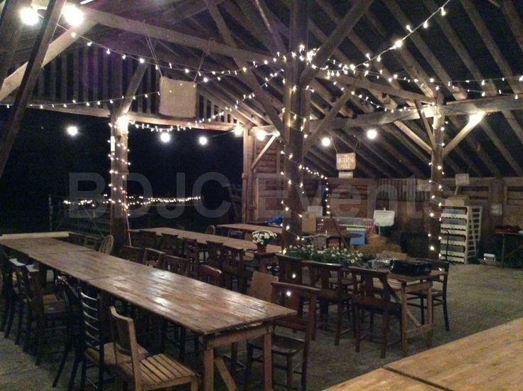 Vintage wedding lighting hire, Fairy Light Canopies for Weddings  #bdjcevents #eventlighting #partylighting #venuedressing #ledtablecentres #paperlanterncanopy