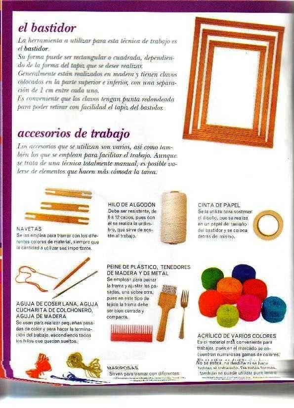 Tejidos y Telares: Revista de Tapices