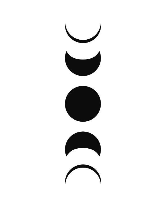 Best 25 Moon Phases Art Ideas On Pinterest Moon Phase