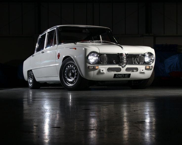 Alfa Romeo Giulia TI Super-R | Custom-built restored & powered by a 216 bhp Twin Spark engine.