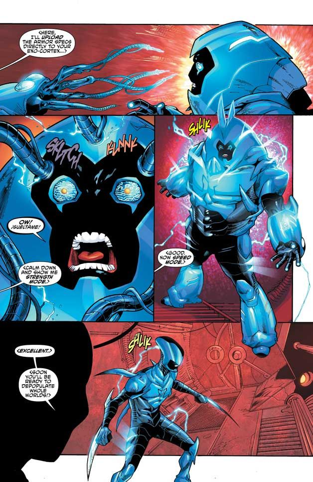 If the Reach wasn't dangerous enough, Blue Beetle encounters a new ally who might prove to be more trouble than he's worth!