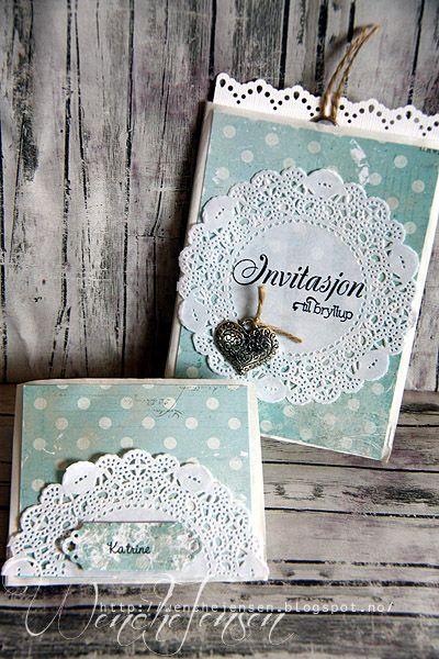 Invitasjoner og bordkort