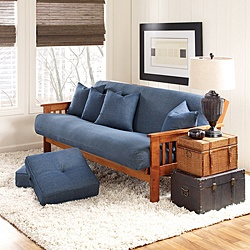 @Overstock - This classic denim futon cover from Sure Fit gives your furniture an all-American feel. The cover is made from 5.1-ounce denim for crisp performance and durability.http://www.overstock.com/Home-Garden/Sure-Fit-Cotton-Denim-Futon-Cover/6511436/product.html?CID=214117 $54.99