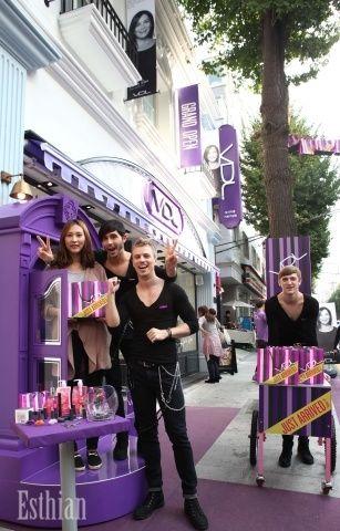 에스띠안-LG생활건강, 유니크 코스메틱 브랜드 VDL브랜드 샵 오픈