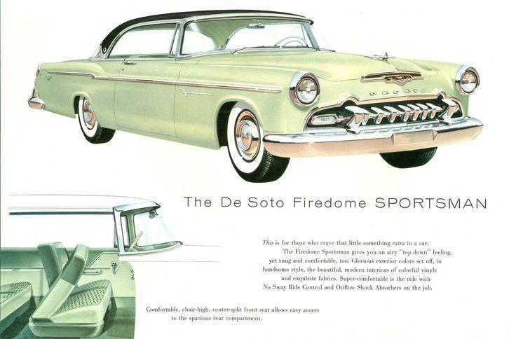 1955 DeSoto Firedome 2-Door Sportsman