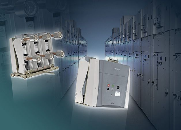 MV Circuit Breaker Or Vacuum Contactor? PART 2 (on photo: SIEMENS's Sion vacuum circuit-breaker is designed for use in all common types of m...