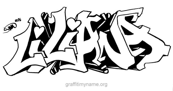 liliana | Graffiti My Name