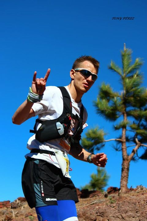 #NBRteam Transvulcania 2014 ultramarathon fot. Tony Perez