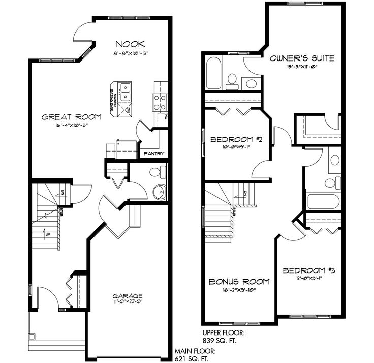The Ethan II floor plan from Pacesetter Homes