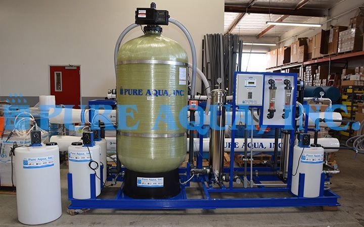 Industrial Ro System For Public Facility 57 000 Gpd Curacao In 2020 With Images Reverse Osmosis Filter Water Treatment Reverse Osmosis Water
