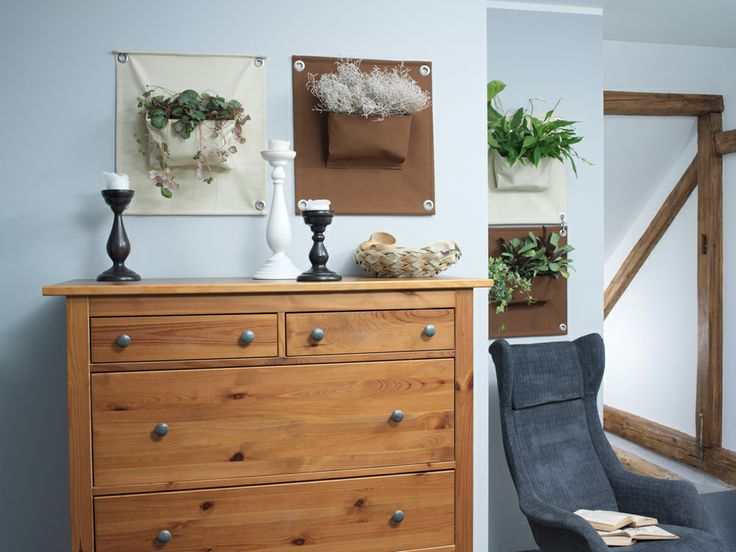 wall planter in small space
