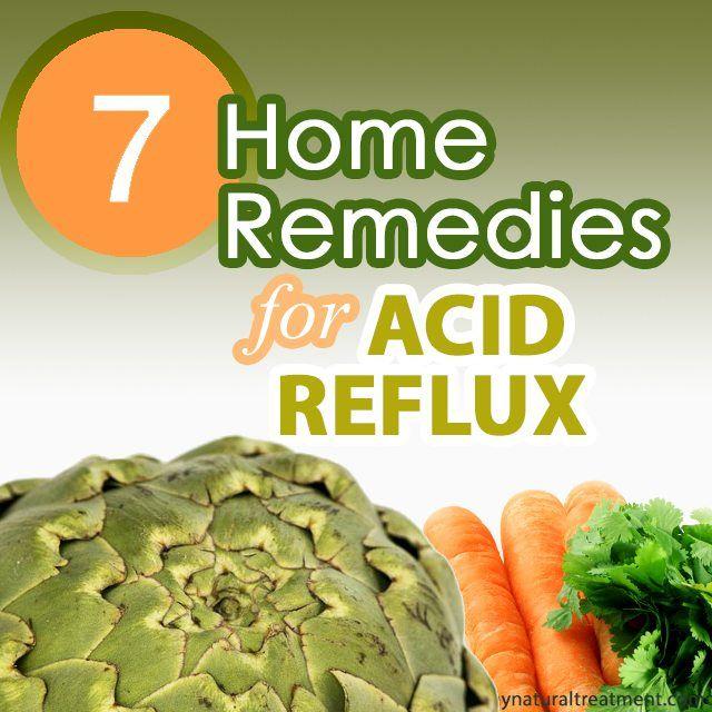 home remedies for acid reflux gerd