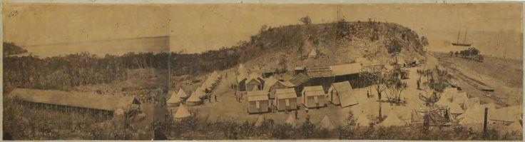 Goyder's Fort Hill Camp, Port Darwin