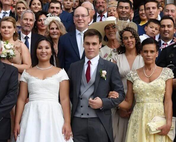 Louis Ducruet got married to Marie Chevallier   Look