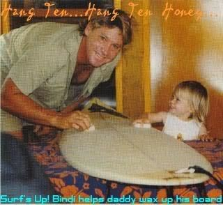 steve irwin with daughter bindi irwin
