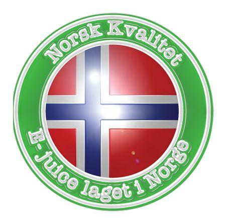 E-væske/e-juice laget i Norge