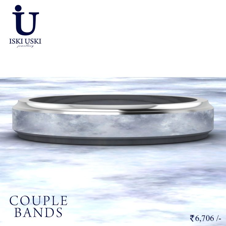 Get better value for money with an engagement band for both, day to day wear and those extra special occasions.   #CoupleBand #diamondband #Bands #IskiUski
