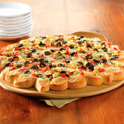 Antipasti Pull-Apart Pizza - The Pampered Chef®