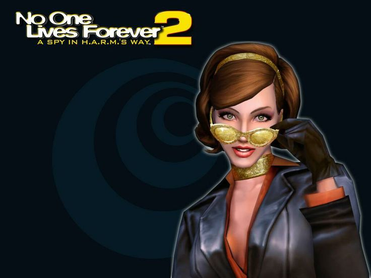 No One Lives Forever 2 game wallpaper