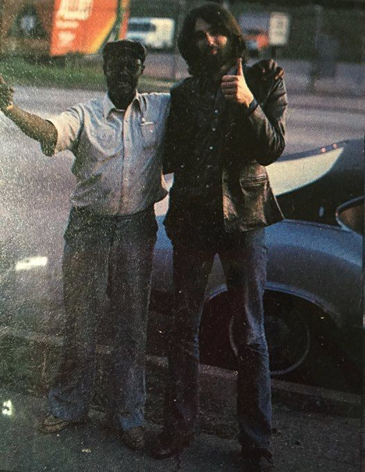 Pintop Perkins and Chris Rannenberg in Chicago 1982
