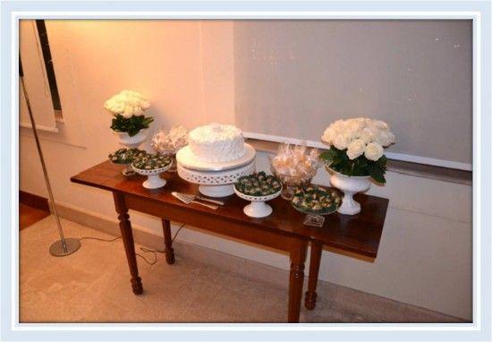 Mesa do bolo - Noivado