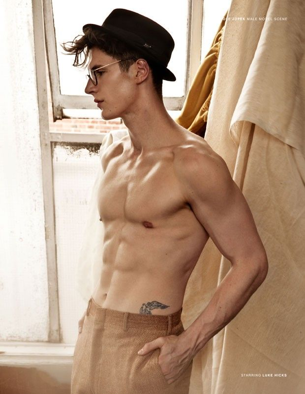 Luke Hicks by Nicole Jopek for MALE MODEL SCENE