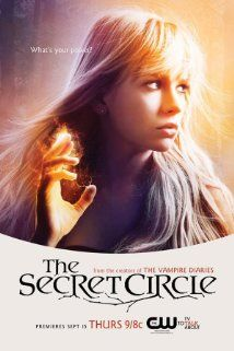 The Secret Circle (TV Series 2011– ).  I liked this show, but the books were WAY better!  I was surprised it was cancelled after one season though.