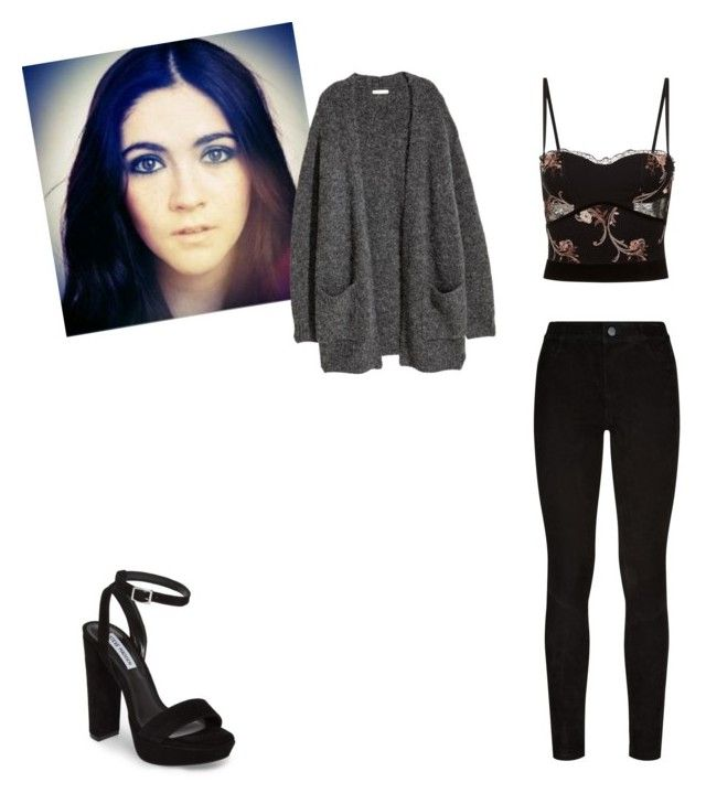 """Untitled #371"" by queen-olmos on Polyvore featuring Kofta, La Perla, Paige Denim and Steve Madden"