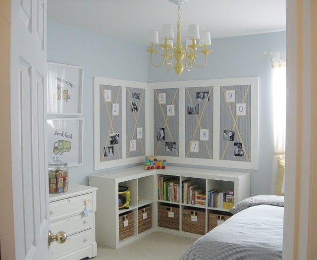 Classic boys room.: Bulletin Board, Kidsroom, Room Ideas, Boys Room, Bedroom, Kids Rooms, Big Boy Rooms
