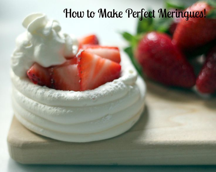 baking 101: perfect meringues every time!