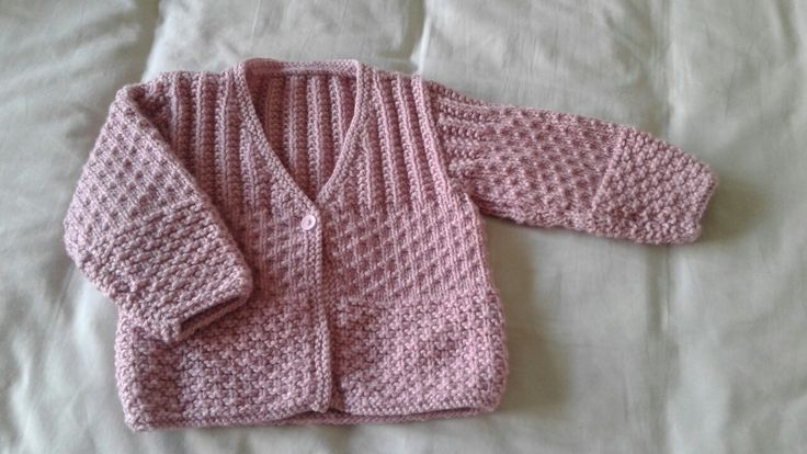 Sirdar 1082 - girls cardigan knitted in 8ply for Isobel - love this pattern