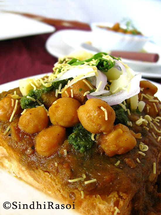 107 best indian street food images on pinterest indian street indian curry of garbanzo beans cooked in spicy onion tomato gravy served with soft dinner rolls or sliced bread a popular sindhi breakfast and streetfood forumfinder Images