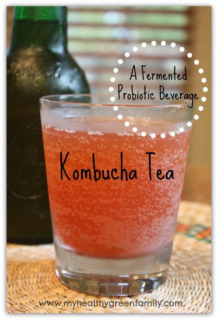 How to Make Kombucha Tea: A Fermented Probiotic Beverage