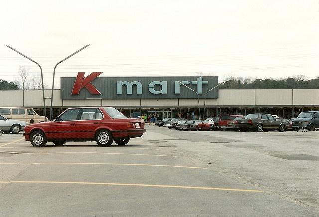 Old K-mart store