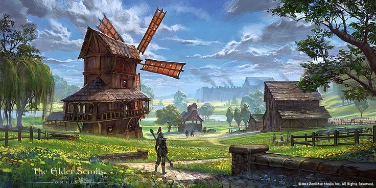 Country Settlement from The Elder Scrolls Online