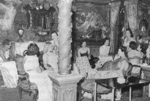 Le chabanais vers 1940 situ e au 12 rue chabanais la for A la maison close