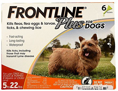http://picxania.com/wp-content/uploads/2017/09/frontline-plus-flea-and-tick-control-for-dogs-and-puppies-8-weeks-or-older-and-up-to-5-to-22lbs-6-doses.jpg - http://picxania.com/frontline-plus-flea-and-tick-control-for-dogs-and-puppies-8-weeks-or-older-and-up-to-5-to-22lbs-6-doses/ - Frontline Plus Flea and Tick Control for Dogs and Puppies 8 weeks or older and up to 5 to 22lbs, 6-Doses -  Price:    Frontline products are highly recommended by veterinarians for flea and tick c