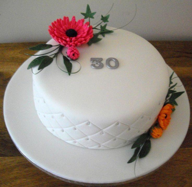 Cake Decorating: Gerbera cake