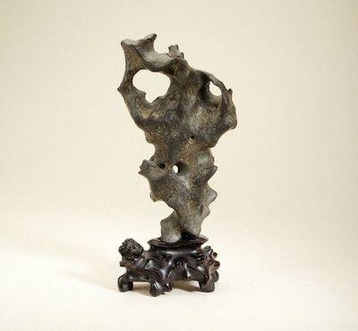 清·太湖石供石 - 西泠拍卖网站