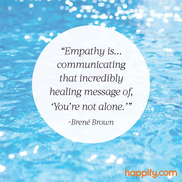 The Best Definition of Empathy We've Heard