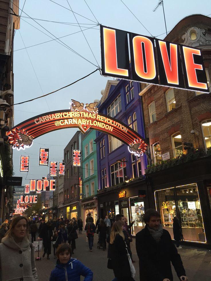 Londra, Carnaby street - 6 dicembre 2016