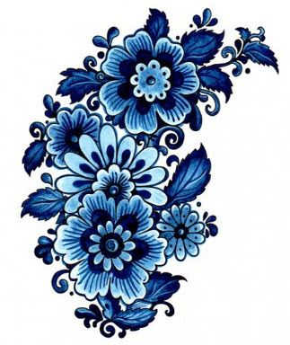 Blue Flower Temptation Tattoo #t4aw #blue #flower #tattoo