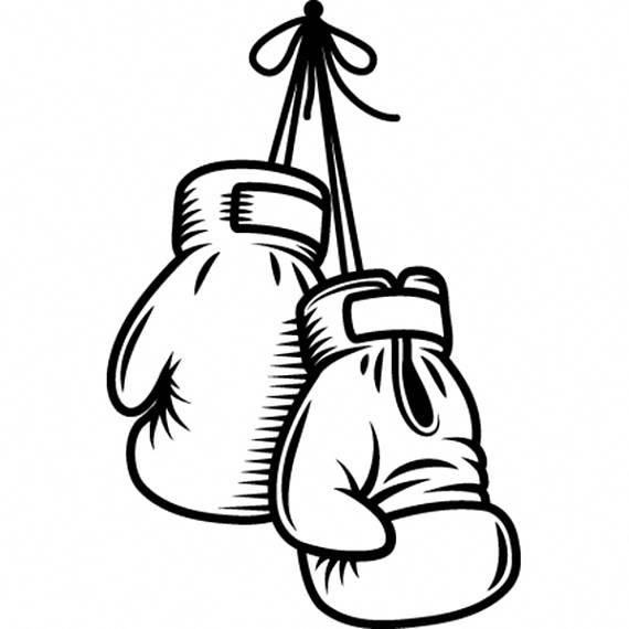 Hanging Boxing Gloves Vector Image On Vectorstock Boxing Gloves Gloves Boxing Gloves Tattoo
