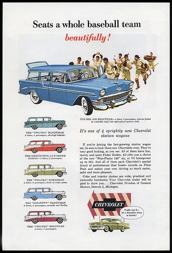 1956 Chevy wagon ad, concept translated into kijang euphoria by toyota Indonesia?!
